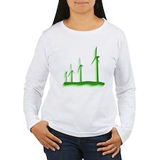Green Wind Power T-Shirt