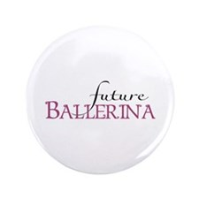 "Future Ballerina 3.5"" Button (100 pack)"