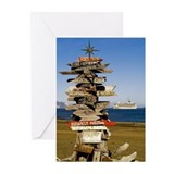 Antarctica 3 Greeting Cards (Pk of 10)