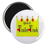 "Queen of Trailer Trash! 2.25"" Magnet (100 pack)"