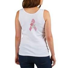 Breast Cancer Ribbon & Bunny Women's Tank Top