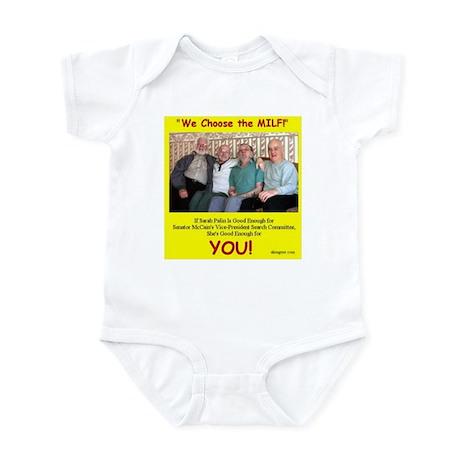 Vice Presidential Selection C Infant Bodysuit