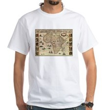 Ancient Africa Map Shirt
