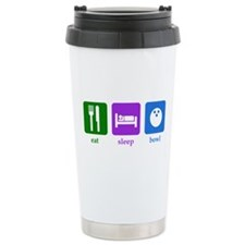 Bowling Ceramic Travel Mug