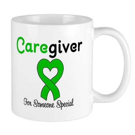 Caregiver Green Ribbon Mug