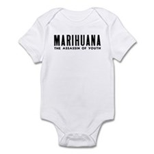 MARIHUANA - The Assassin of Youth Infant Bodysuit