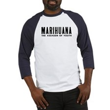MARIHUANA - The Assassin of Youth Baseball Jersey