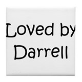 Cute Darrell Tile Coaster