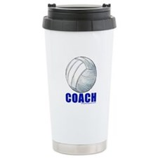Volleyball Coach Ceramic Travel Mug