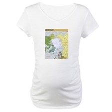 Arctic Polar Map Shirt