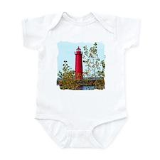 Muskegon Lighthouse Onesie