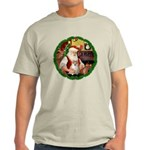 Santa's Pomeranian #1 Light T-Shirt
