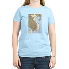 Vietnam Asia Map T-Shirt