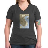 Vietnam Asia Map Shirt