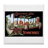Memphis TN Tile Coaster