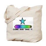 Gay Pride Gonzales Flag Tote Bag