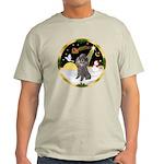 Night Flight/Silver Poodle Light T-Shirt
