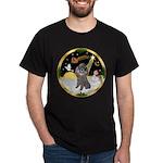 Night Flight/Silver Poodle Dark T-Shirt