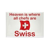 Swiss Chefs Rectangle Magnet