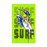 Surf Rectangle Decal