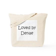 Funny Dena Tote Bag