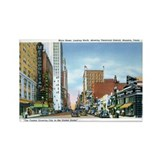 Houston Texas TX Rectangle Magnet (10 pack)