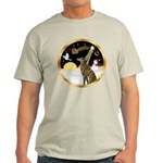 Night Flight/Greyhound (brin) Light T-Shirt