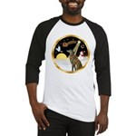 Night Flight/Greyhound (brin) Baseball Jersey
