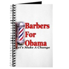 Barbers For Obama Journal