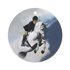 Jumper Horse Ornament (Round)