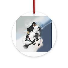 Jumper Horse Ornament (Round)