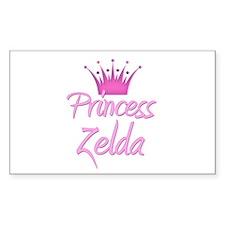 Princess Zelda Rectangle Decal