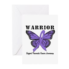 Pancreatic Cancer Greeting Cards (Pk of 10)