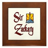 Sir Zackary Framed Tile