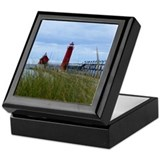Lighthouses of Grand Haven Keepsake Box