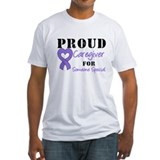 Caregiver Purple Ribbon Shirt