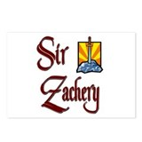 Sir Zachery Postcards (Package of 8)