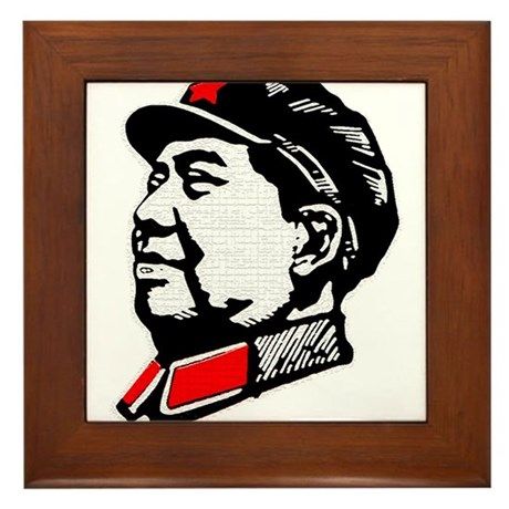 Chairman Mao Framed Tile