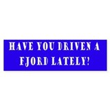 Have you driven a Fjord Lately?