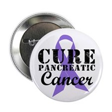 """Cure Pancreatic Cancer 2.25"""" Button (10 pack)"""