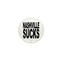 Nashville Sucks Mini Button