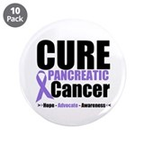 "Cure Pancreatic Cancer 3.5"" Button (10 pack)"