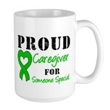 Caregiver Green Ribbon Coffee Mug
