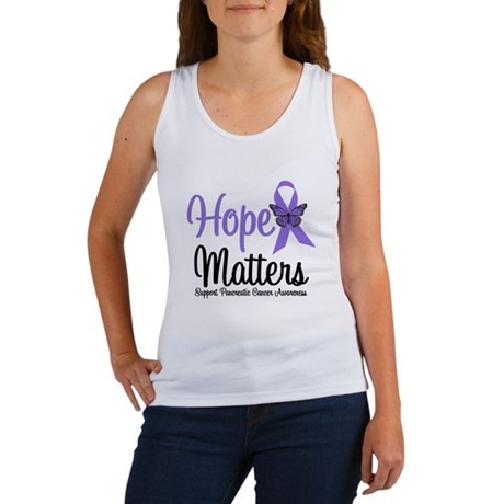 Hope Matters Pancreatic Cancer Women's Tank Top