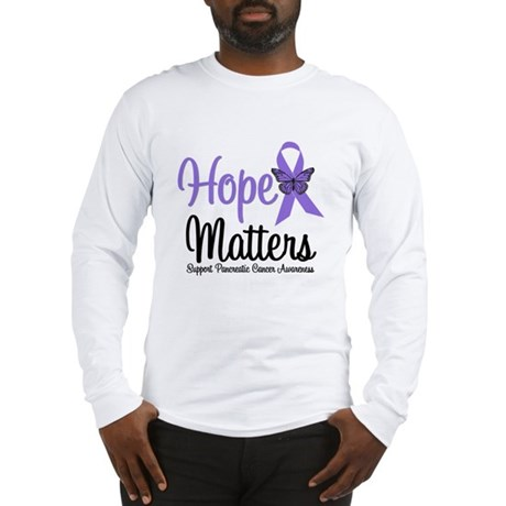 Hope Matters Pancreatic Cancer Long Sleeve T-Shirt