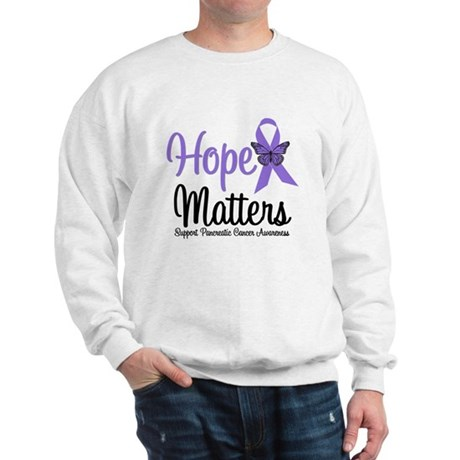 Hope Matters Pancreatic Cancer Sweatshirt