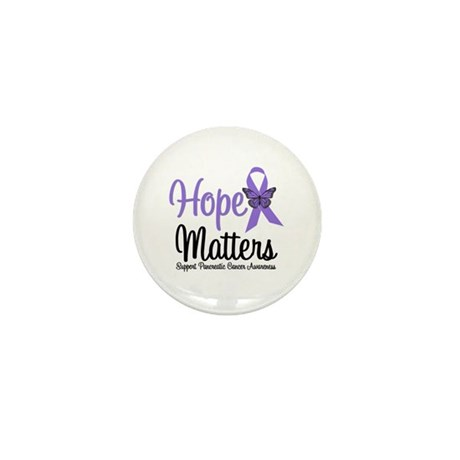 Hope Matters Pancreatic Cancer Mini Button (10 pac