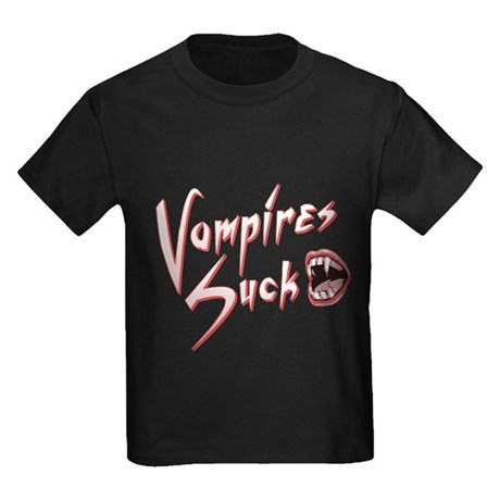 Vampires Suck Kids T-Shirt