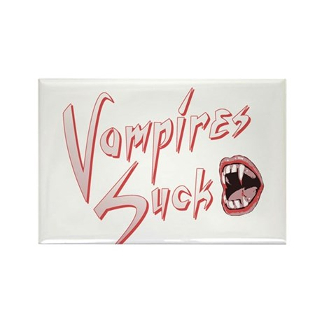 Vampires Suck Rectangle Magnet