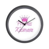 Princess Xiomara Wall Clock